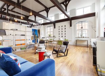 Thumbnail 3 bed flat for sale in Hoffman Square, Chart Street, London