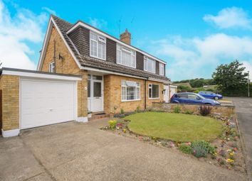 Thumbnail 3 bed semi-detached house for sale in Mountbatten Close, Thetford