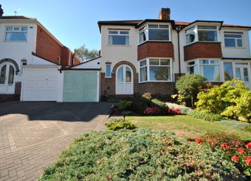 Thumbnail 3 bed semi-detached house for sale in Bibury Road, Hall Green, Birmingham, West Midlands