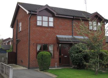 Thumbnail 2 bed semi-detached house to rent in Christchurch Avenue, Crewe