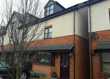 Thumbnail 4 bed town house for sale in Village Close, Weaverham, Northwich, Cheshire
