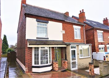Thumbnail 3 bed semi-detached house for sale in Measham Road, Swadlincote