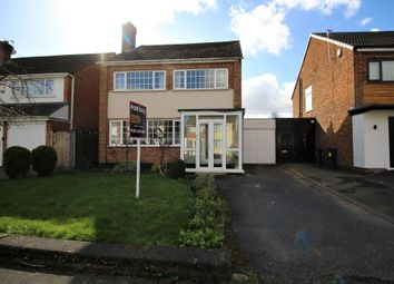 3 bed detached house for sale in Peverell Drive, Hall Green, Birmingham B28