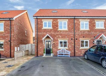 Thumbnail 3 bed end terrace house for sale in Highfield Road, Whitby, North Yorkshire