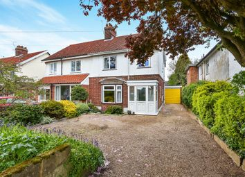 Thumbnail 3 bedroom semi-detached house for sale in Elm Grove Lane, Norwich