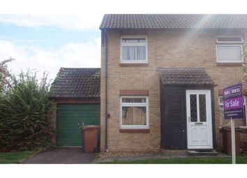 Thumbnail 2 bed semi-detached house for sale in St Kyneburgha Close, Castor, Near Peterborough
