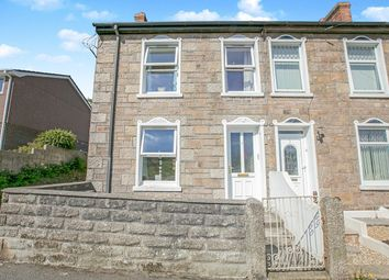 3 bed end terrace house for sale in Church View Road, Camborne, Cornwall TR14