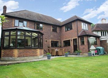 Thumbnail 4 bed detached house to rent in Oak End Way, Woodham, Addlestone