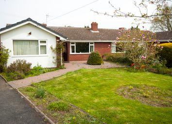 Thumbnail 3 bed semi-detached bungalow for sale in Soulton Crescent, Wem