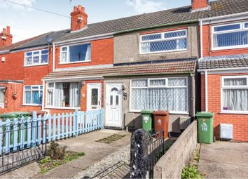 Thumbnail 2 bedroom terraced house for sale in Grove Crescent, Grimsby