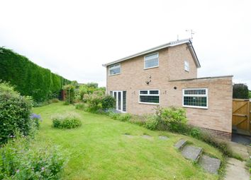 Thumbnail 4 bed detached house for sale in Caernarvon Close, Walton, Chesterfield