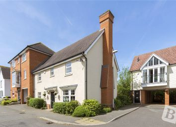 Thumbnail 4 bed link-detached house for sale in Lambourne Chase, Great Baddow