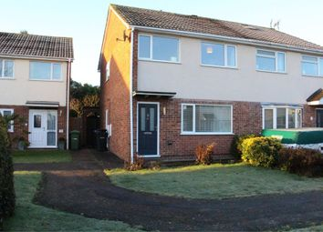 Thumbnail 3 bed semi-detached house for sale in Cookes Drive, Broughton Astley, Leicester