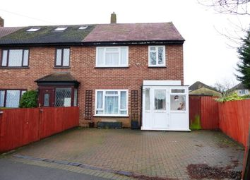 Thumbnail 3 bedroom end terrace house for sale in Glen Road, Chessington