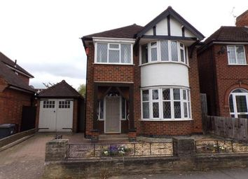 Thumbnail 3 bed detached house for sale in Rowley Fields Avenue, Rowley Fields, Leicester, Leicestershire