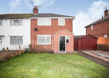 Thumbnail 3 bed semi-detached house for sale in Barbridge Road, Bulkington, Bedworth