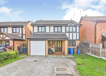 Thumbnail 4 bed detached house for sale in Hatchmere Close, Oakwood, Derby