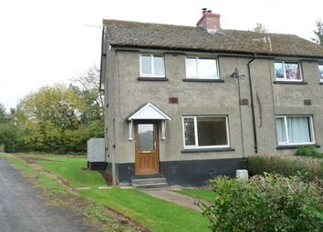 Thumbnail 3 bed semi-detached house to rent in Brecon