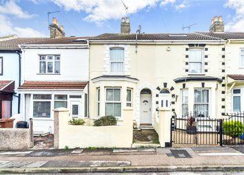 Thumbnail 2 bedroom terraced house to rent in Milton Road, Gillingham, Kent