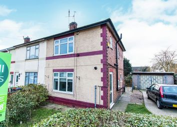 Thumbnail 3 bed end terrace house for sale in Beauvale Crescent, Hucknall, Nottingham