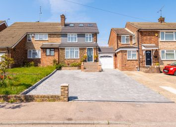 Thumbnail 4 bed semi-detached house for sale in Lonsdale Drive, Rainham, Gillingham