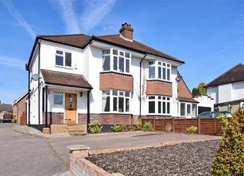 Thumbnail 3 bed semi-detached house for sale in Brighton Road, Banstead, Surrey