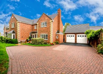 Thumbnail 4 bed detached house for sale in Ashmole Avenue, Burntwood