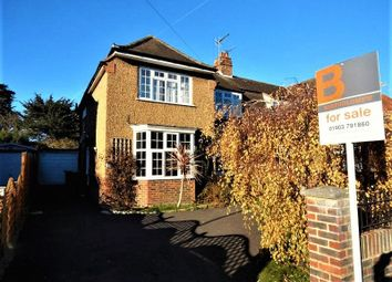 Thumbnail 3 bed semi-detached house for sale in Offington Drive, Broadwater, Worthing