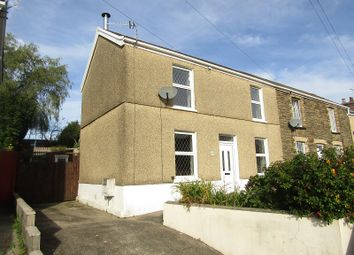 Thumbnail 3 bed end terrace house for sale in Lucas Road, Glais, Swansea, City And County Of Swansea.