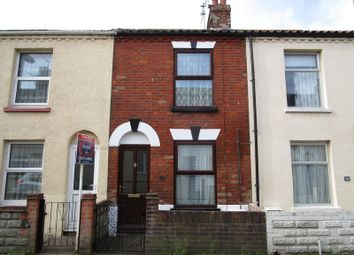 Thumbnail 3 bed terraced house to rent in East Road, Great Yarmouth