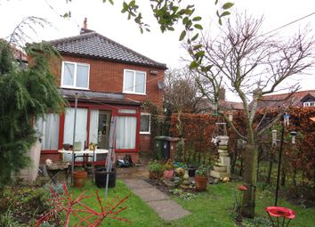 Thumbnail 3 bed semi-detached house for sale in Front Street, Trunch, North Walsham
