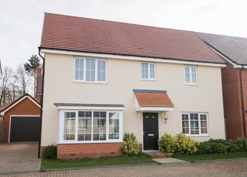 Thumbnail 4 bed detached house for sale in Stanley Road, Great Chesterford, Saffron Walden
