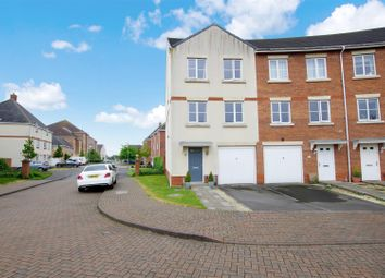 Thumbnail 4 bed town house for sale in Mayflower Road, Oakley Park, Swindon
