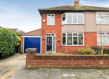 Thumbnail 3 bed semi-detached house for sale in Rowena Close, Crosby, Liverpool