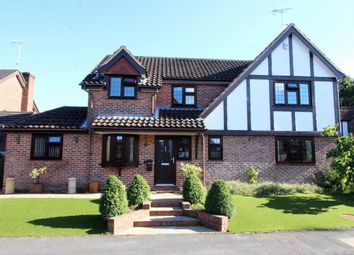 Thumbnail 4 bedroom detached house for sale in Peel Avenue, Frimley
