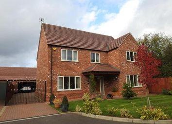 Thumbnail 5 bedroom detached house for sale in Rowan Court, Hucknall, Nottingham