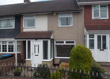 Thumbnail 3 bed terraced house to rent in Bexley Close, Middlesbrough