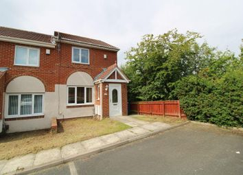 Thumbnail 2 bed end terrace house for sale in Redewood Close, Redewood Park, Slatyford, Newcastle Upon Tyne