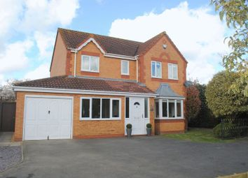 Thumbnail 4 bed detached house for sale in Centaine Road, Rushden