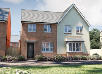 "Thumbnail 2 bed semi-detached house for sale in ""The Oak"" at Winchester Road, Boorley Green, Botley"