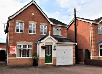 Thumbnail 4 bed detached house for sale in The Moorings, Scawby Brook, Brigg
