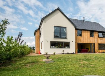 Thumbnail 5 bed detached house for sale in Gissing Road, Burston, Diss