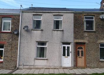 Thumbnail 3 bed terraced house for sale in Feeder Row, Cwmcarn, Newport