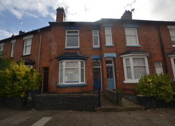 Thumbnail 3 bedroom terraced house to rent in Dulverton Road, Leicester