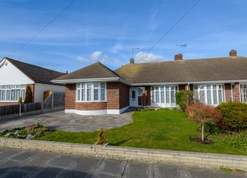 Thumbnail 2 bed semi-detached bungalow for sale in Chelsworth Crescent, Thorpe Bay, Southend-On-Sea