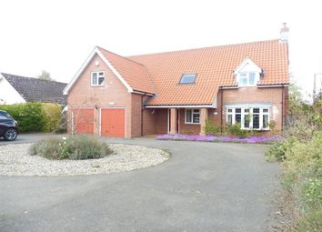 Thumbnail 5 bed detached house to rent in Low Street, Oakley, Diss