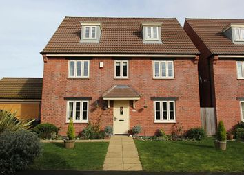 Thumbnail 5 bed detached house for sale in Hawking Close, Colsterworth, Lincolnshire
