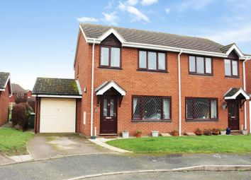 Thumbnail 3 bedroom semi-detached house for sale in Fernbrook, Dorrington, Shrewsbury