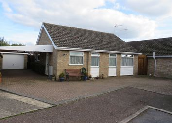 Thumbnail 2 bed detached bungalow for sale in Plovers Way, Hockwold, Thetford