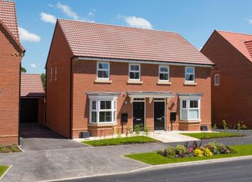"Thumbnail 3 bedroom semi-detached house for sale in ""Washford"" at Torry Orchard, Marston Moretaine, Bedford"